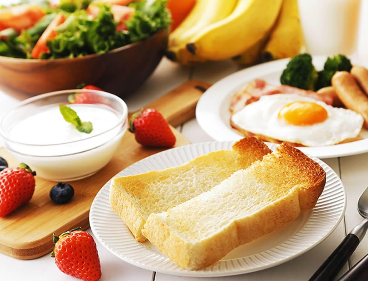 朝食の多くは粉体の分散と溶解で作られます